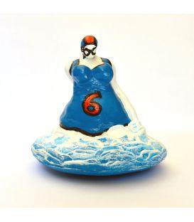 La baigneuse bleue - Dossard 6