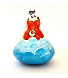 La baigneuse au maillot rouge - Dossard 0