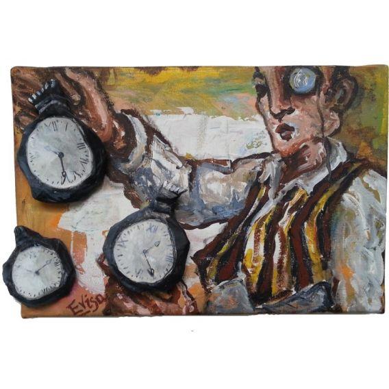 Horloger au monocle