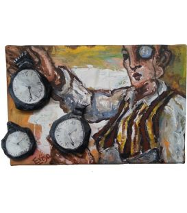 Watchmaker with a monocle