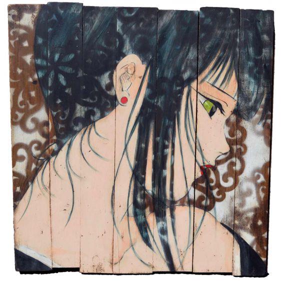 The white veil - Manga