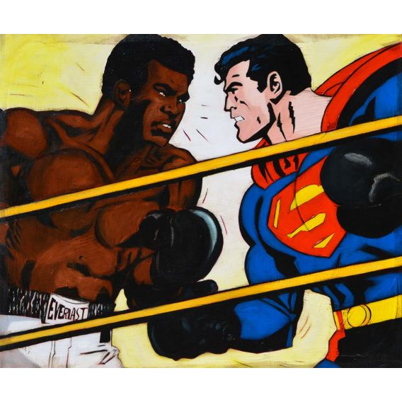 Superman vs Muhammad Ali - Comics