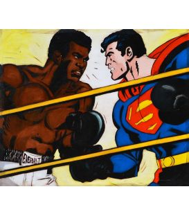 Superman vs Mohammed Ali - Comics
