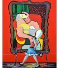 Julie passe devant le rêve (Picasso)