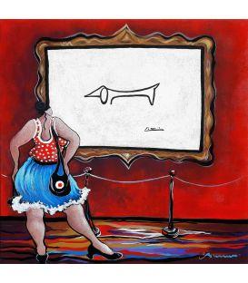 Julie aime beaucoup Lump (Picasso)