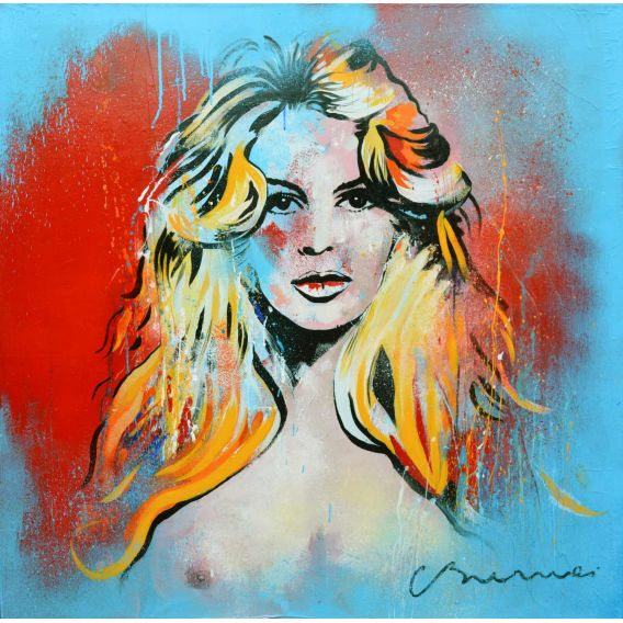 Brigitte Bardot - Visage n°1