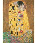The kiss - Gustav Klimt (Original painting)