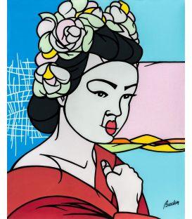 Geisha - Tableau de Pascal Buclon