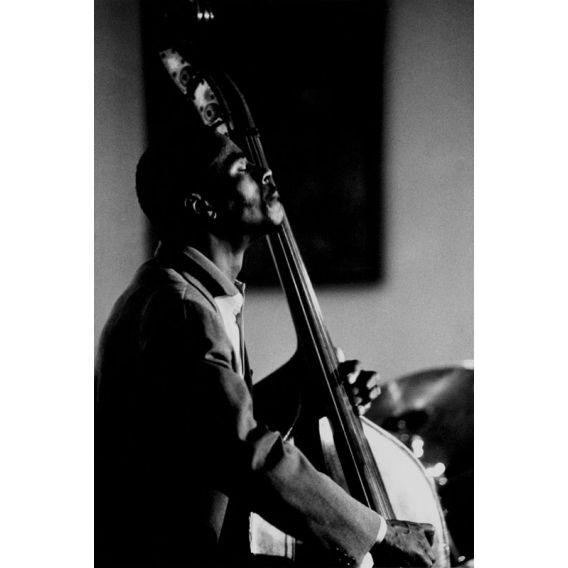 Bassist Curtis Lundy Paris 1987
