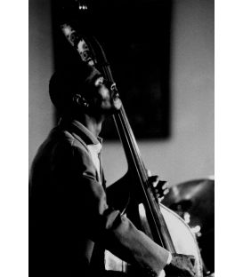 Bassist Curtis Lundy Paris 1987