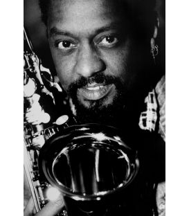 Saxophonist Chico Freeman Paris 1989