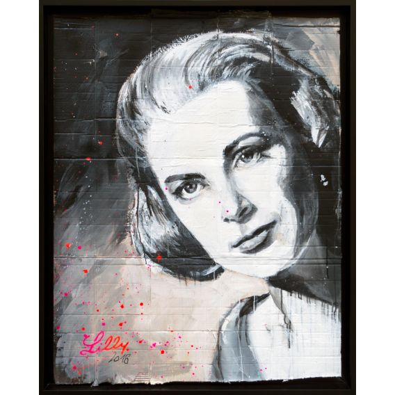 Grace Kelly - Tableau de Lilly