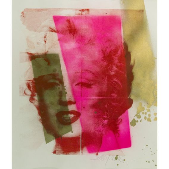 Marylin Monroe - Sérigraphie de Lilly