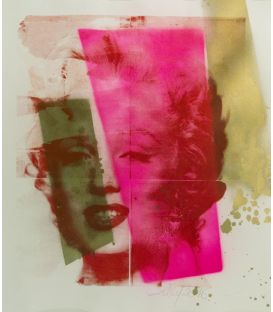 Marylin Monroe - Lilly Serigraph