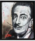 Salvador Dali - Painting by Lilly (framed)