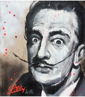 Salvador Dali - Painting by Lilly