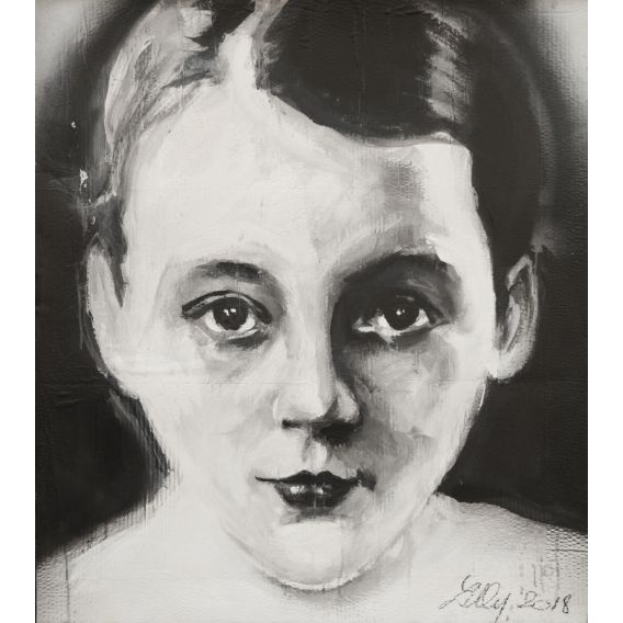 Marguerite Duras - Lilly's painting