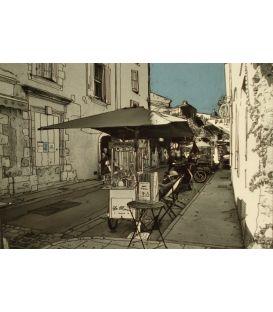 The ice cream vendor of Lourmarin