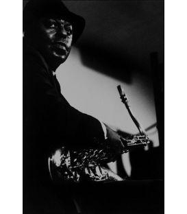 Archie Shepp 1/3 saxophonist Paris 1987
