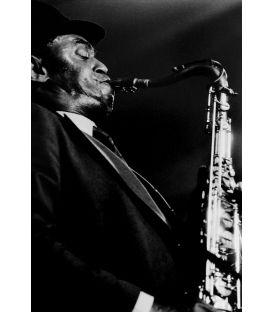Archie Shepp 2/3 saxophonist Paris 1988