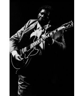 BB King 1/2 Guitariste bluesman Paris 1992
