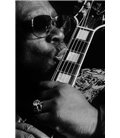 BB King 2/2 Guitarist bluesman Paris 1992