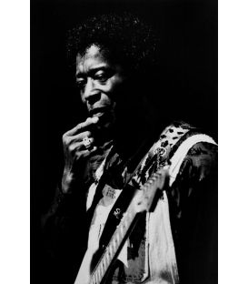 Buddy Guy 1/2 Guitarist bluesman Paris 1991