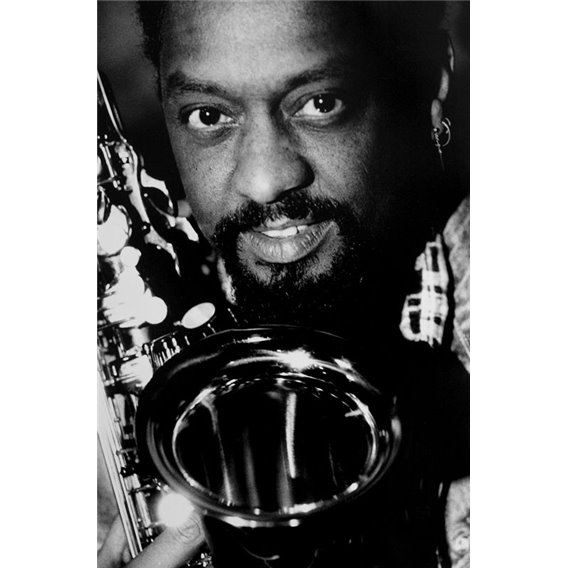 Chico Freeman Saxophonist Paris 1989