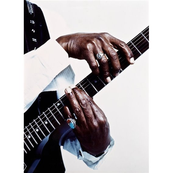Luther Allison's hands