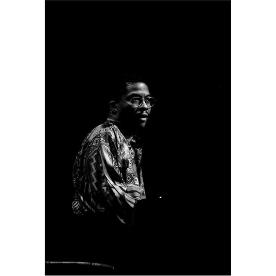 Pianist Herbie Hancock Composer Paris 1991