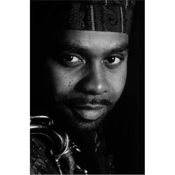 Saxophonist Kenny Garrett Paris 1992