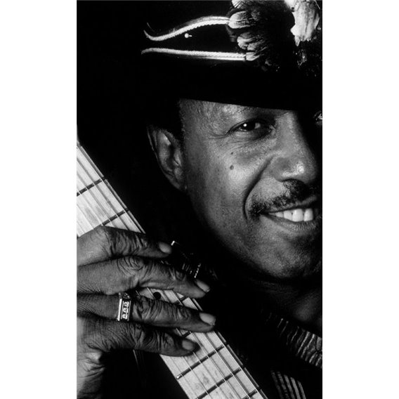 Lonnie Brooks Guitariste bluesman Paris 1992