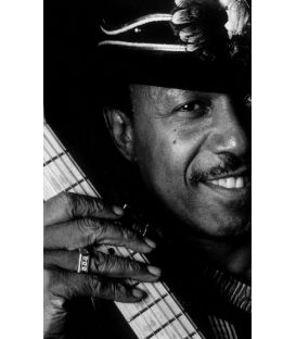 Lonnie Brooks Guitariste bluesman Paris 1992