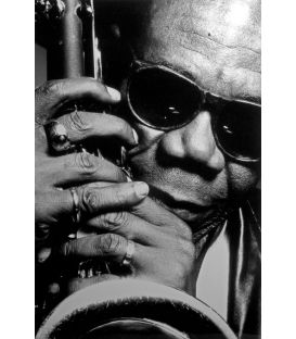 Manu Dibango Saxophoniste Paris 1989