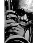 Saxophonist Manu Dibango Paris 1989