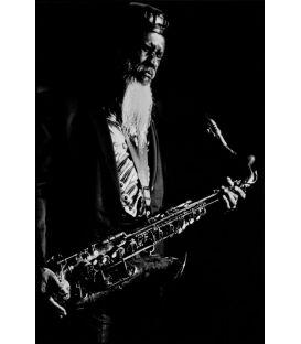 Saxophonist Pharoah Sanders Paris 1987
