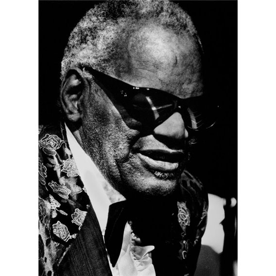 Pianist composer Ray Charles Paris 1991
