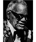 Ray Charles Pianiste compositeur Paris 1991