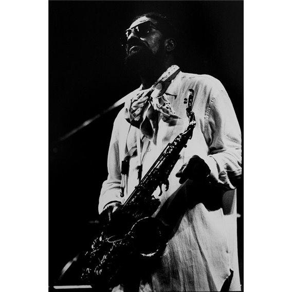 Saxophonist Sonny Rollins Paris 1989