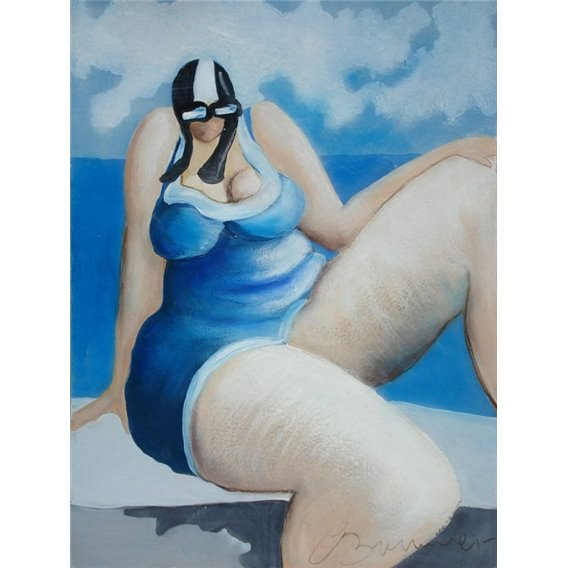 Casual swimmer