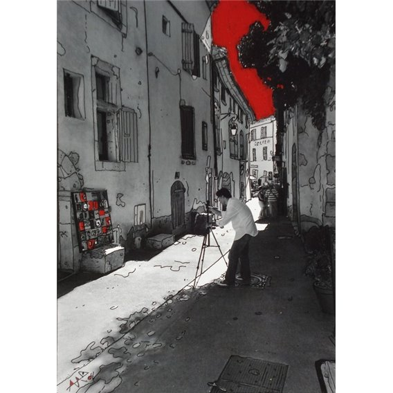 Rue du grand pré à Lourmarin
