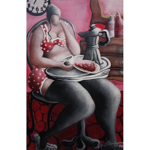 Julie et la tarte aux cerises