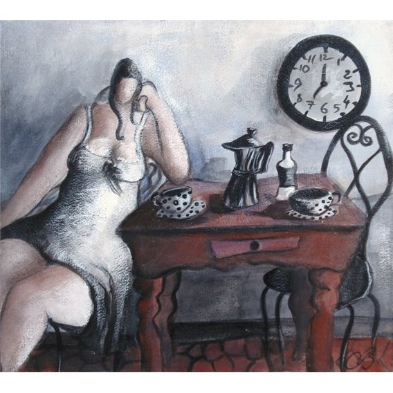 Seven o'clock - time to wake up