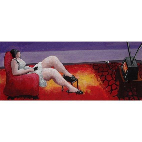 La femme à la télécommande
