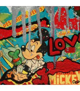 Mickey and Dingo
