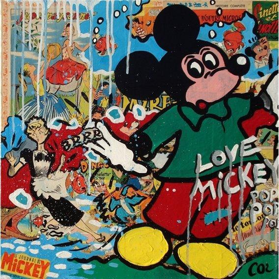 Mickey est effrayé