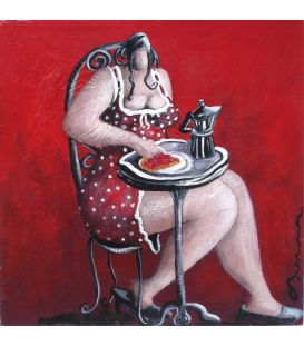 Julie and red fruit tart