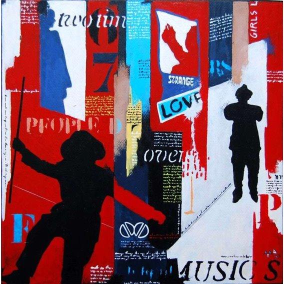 Stange love music (Les Doors)