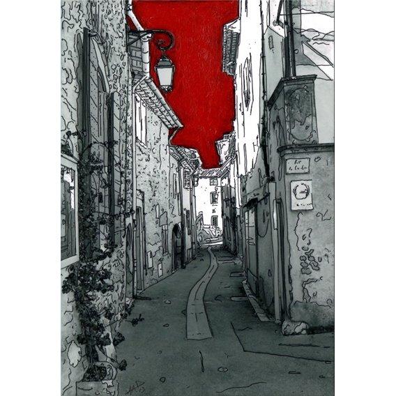 Une rue de Lourmarin