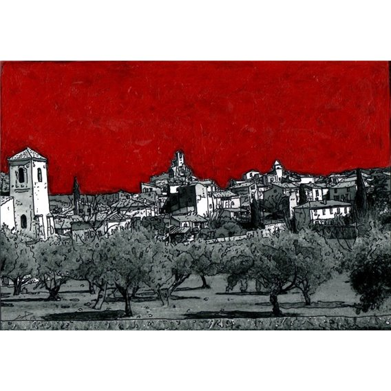 The village of Lourmarin